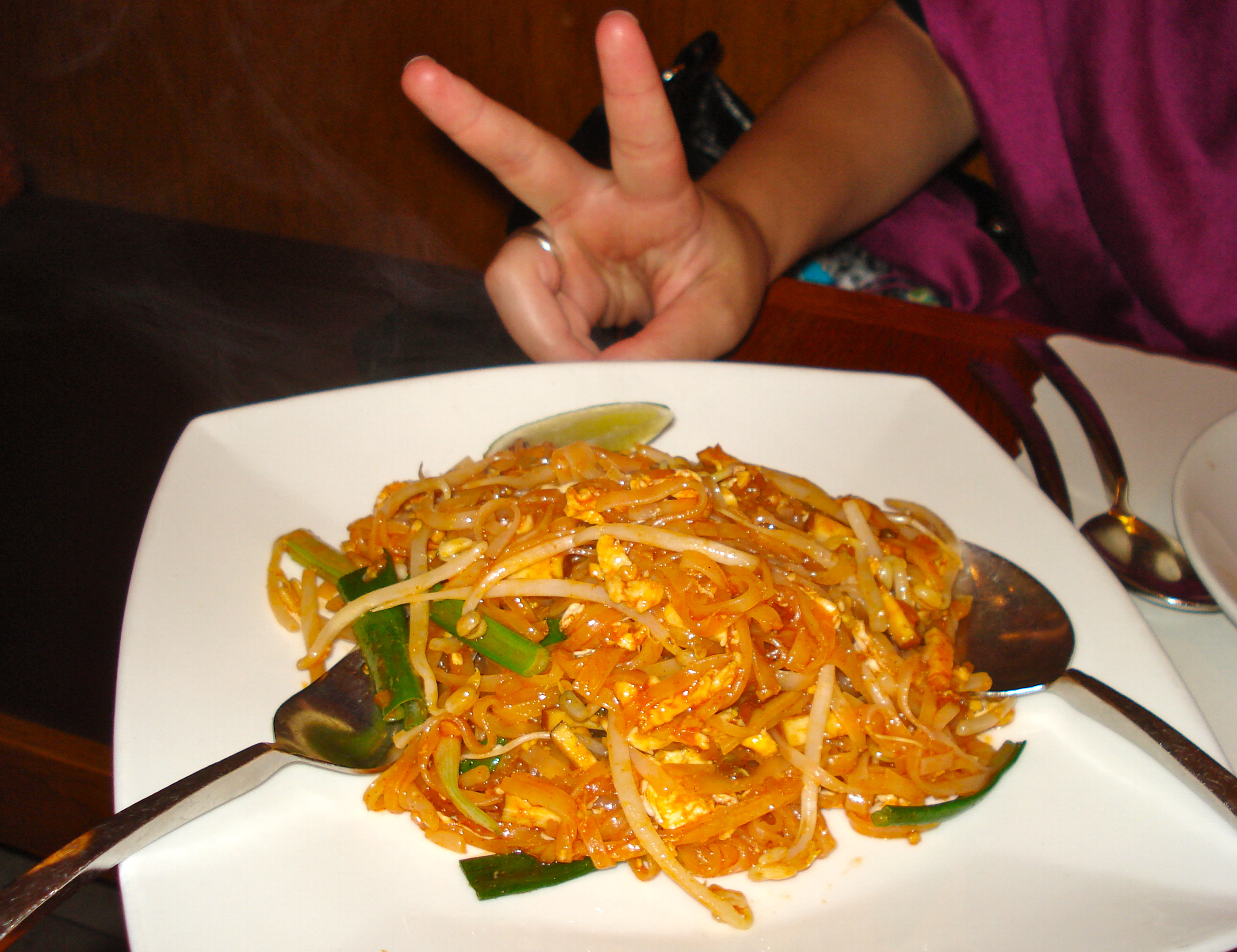 Pad thai for peace.