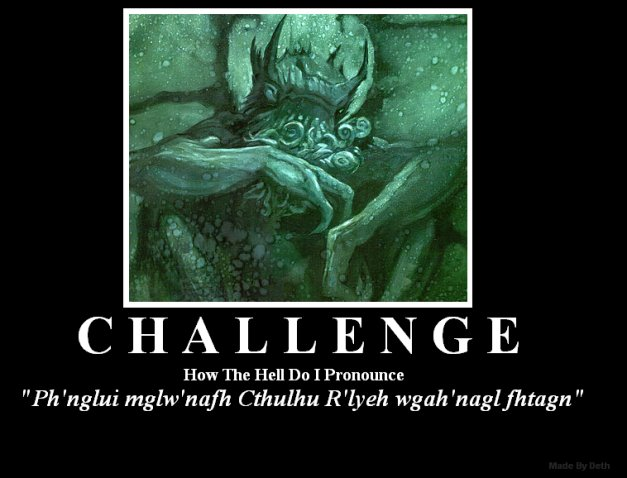 18 Days to Dragon*Con:  Cthulhu (3/6)