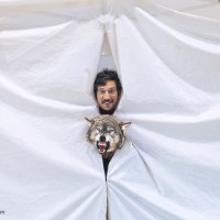 Photoshop Lessons - How to Photoshop Yourself In a Pop Up Tent With A Ferocious Wolf