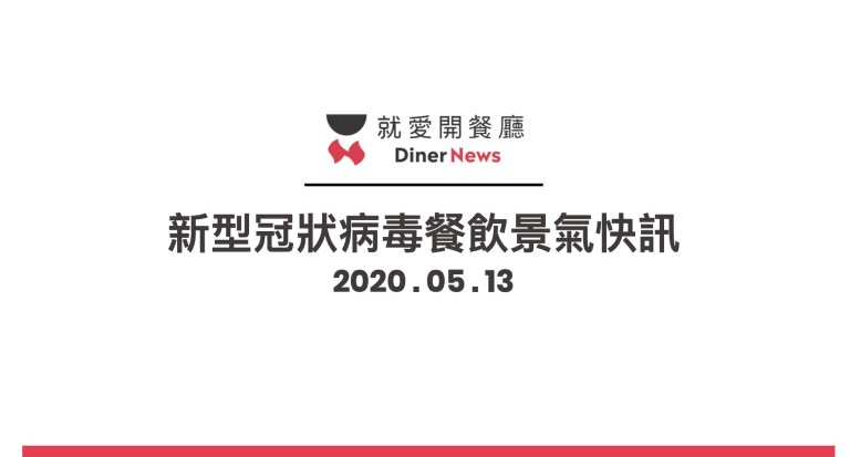 「2020 新型冠狀病毒」肺炎疫情餐飲景氣快訊-0513