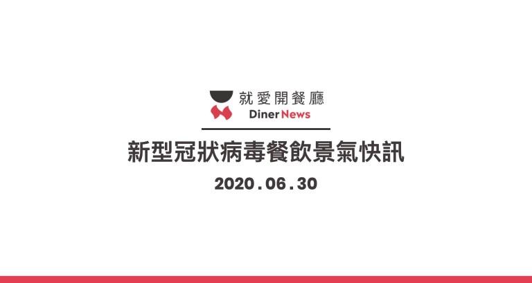 「2020 新型冠狀病毒」肺炎疫情餐飲景氣快訊-0630