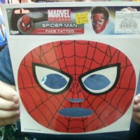 I Want A Spider-Man Face Tattoo