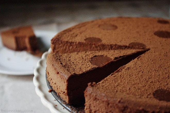 Chilli chocolate cheesecake // The Dinner Bell