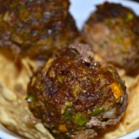 Ground Beef Two Ways: Part 2-Fajita Meatballs