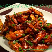 Asian Glazed Chicken Wings