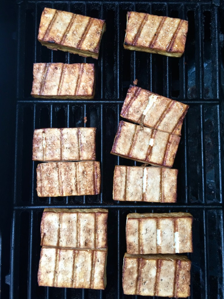 Simplest Grilled Tofu