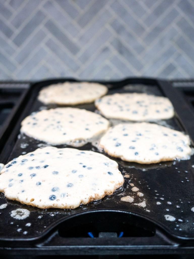 Wild Blueberry Pancakes
