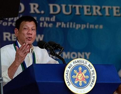 Rodrigo Duterte's Turn in the South China Sea