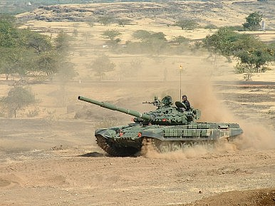 India Deploys T-72 Tanks in Ladakh to Counter China's Military Build-up