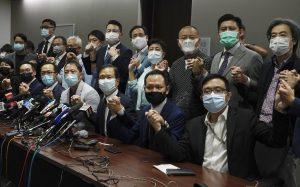 Hong Kong's Pro-Democrat Legislators Resign After Controversial Disqualifications