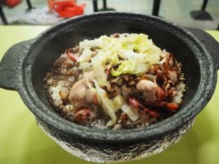 Claypot Rice.