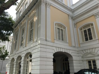 Built in 1827, the Old Parliament House is the oldest government building and perhaps the oldest surviving building in Singapore.