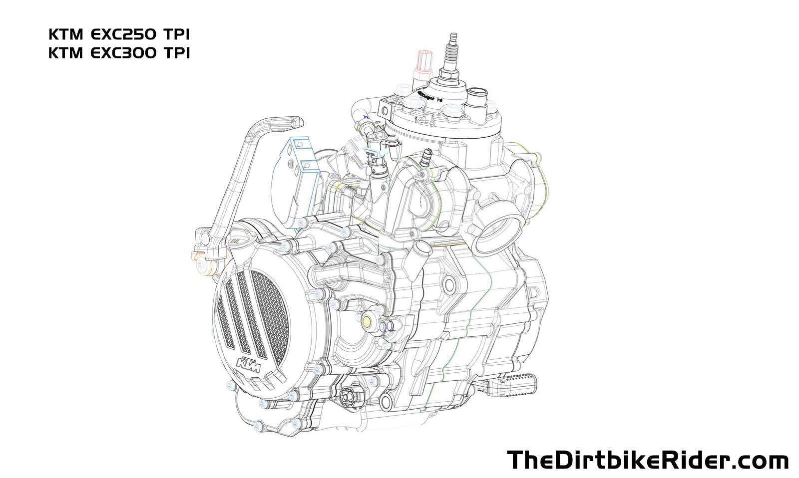 hight resolution of injection 2 stroke diagram