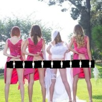 (PHOTOS) Morning Wood: Weird Wednesday - When Did Bridesmaids Butt Shots Become a Thing?