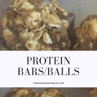 Protein Bars/Balls