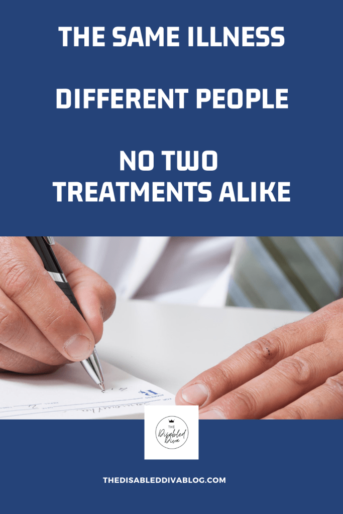 Same diseases, different treatments