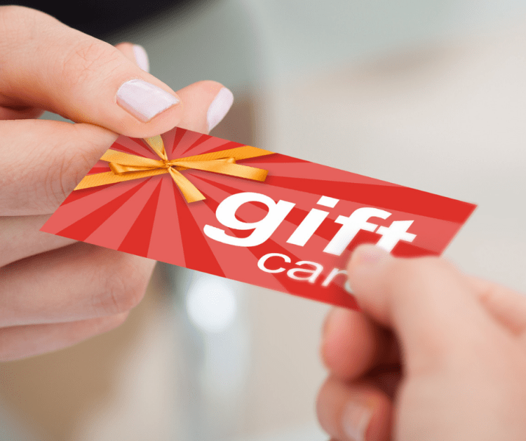 Gift cards are an easy to purchase gift that everybody loves!