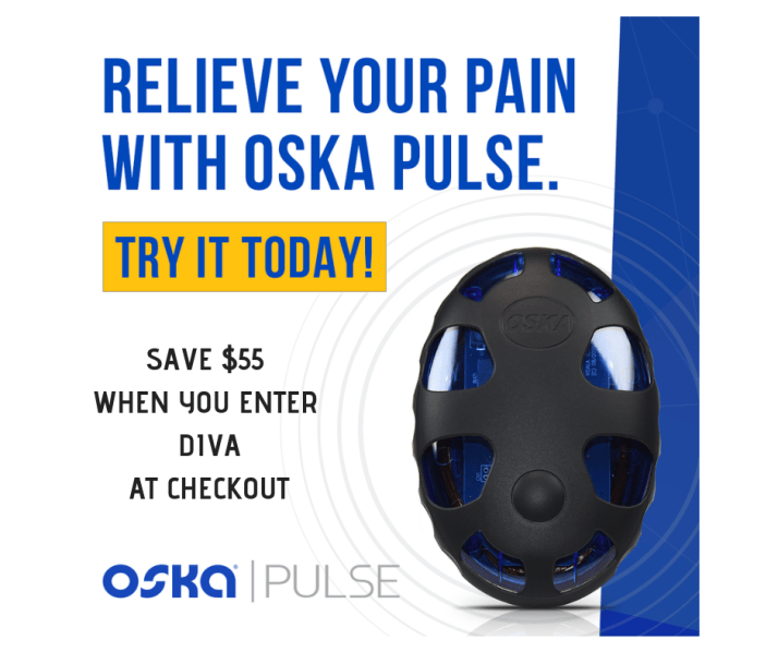 PEMF therapy chronic pain relief with Oska Pulse discount code
