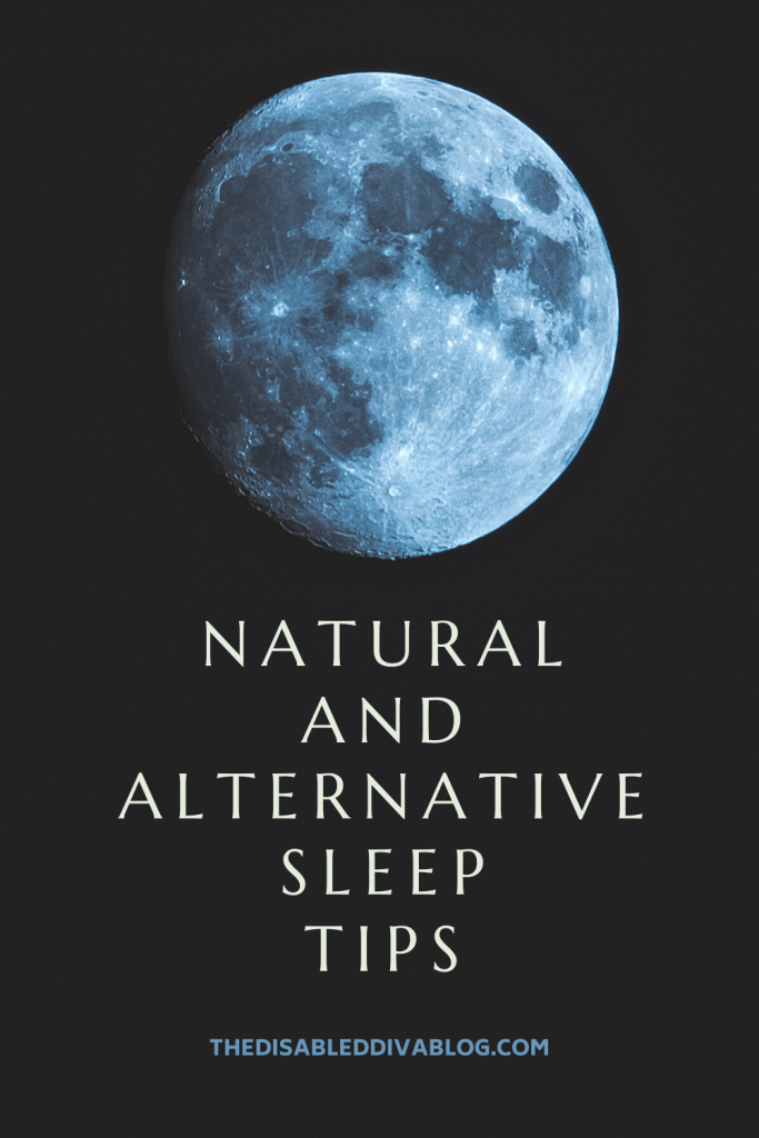 Natural and alternative sleep tips to help you fall asleep faster and sleep through the night. These six suggestions have taken me from sleeping less than 4 hours a night to a full 7-10 hours every night!