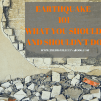 Earthquake 101: What You Should and Shouldn't Do!