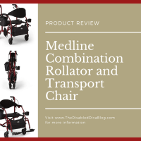 Review of Medline Combination Rollator and Transport Chair