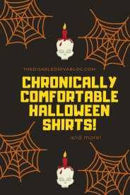 chronically comfort halloween shirts