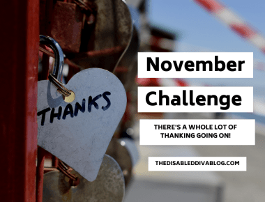 November Challenge! There's a Whole Lot of Thanking Going On!!