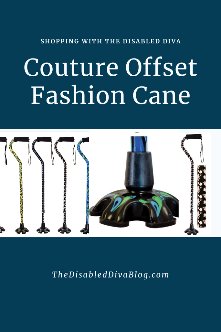 Couture Offset Fashion Cane