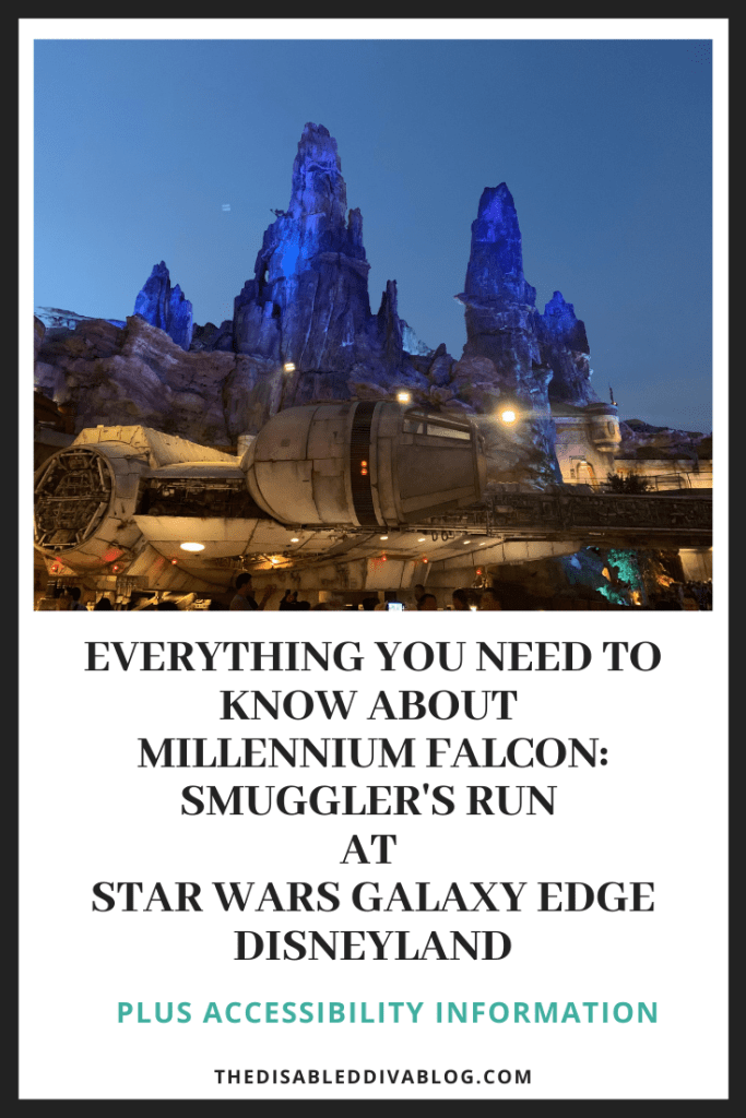 Everything You Need to Know about Millennium Falcon: Smuggler's Run at Star Wars Galaxy Edge Disneyland