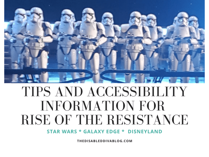 Tips and Accessibility Information for Rise of the Resistance