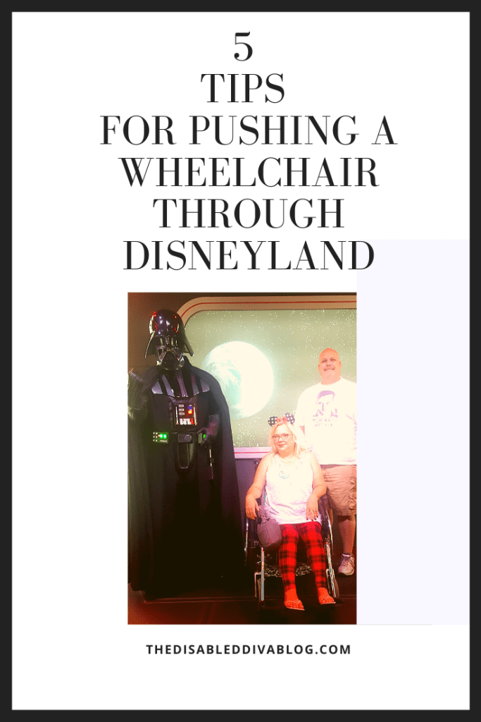 5 Tips For Pushing a Wheelchair Through Disneyland
