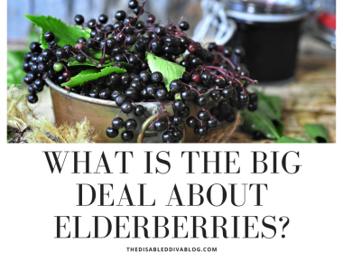 what is the big deal about elderberries