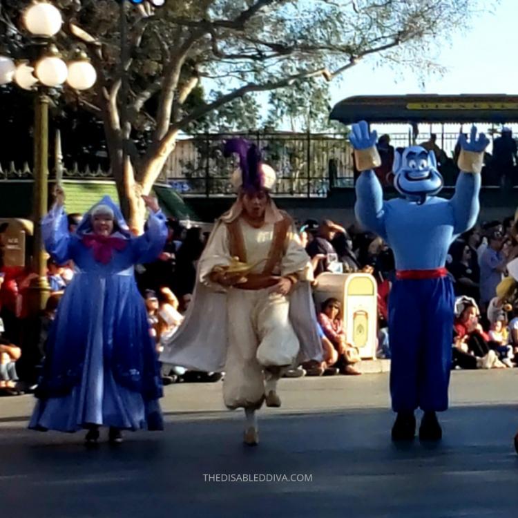 Magic Happens Genie, Aladdin, and the Fairy Godmother