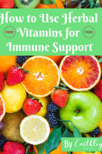 How to use herbal vitamins for immune support free guide