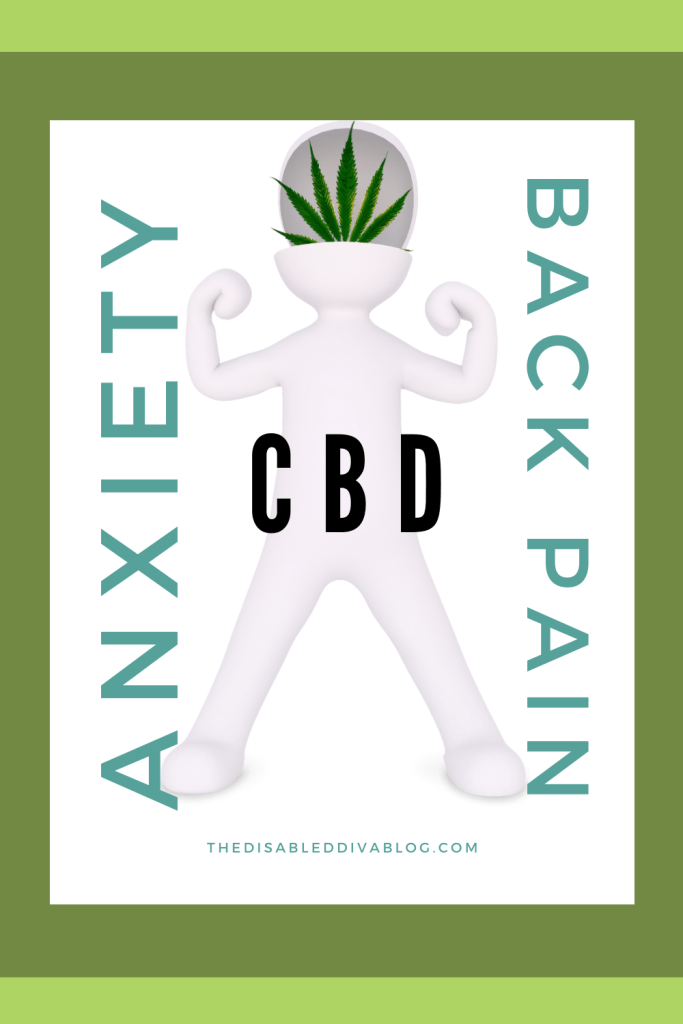 Could CBD reduce or relieve anxiety and back pain? Learn how this cannabinoid works, which form people find most helpful for each ailment, and my product suggestions to help you relax and live with less pain.