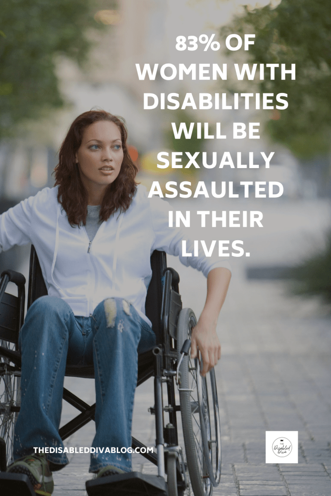 83 percent of women with disabilities will be sexually assaulted in their lives. Self-Defense suggestions to help protect yourself.  #chronicillness #chronicpain #disability #howtodefendyourself #selfempowerment #selfprotection