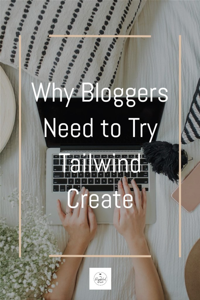 Think creating and sharing pins for your blog posts is complicated? Not anymore! Find out how Tailwind Create has made it easier than ever for The Disabled Diva to create and share hers!