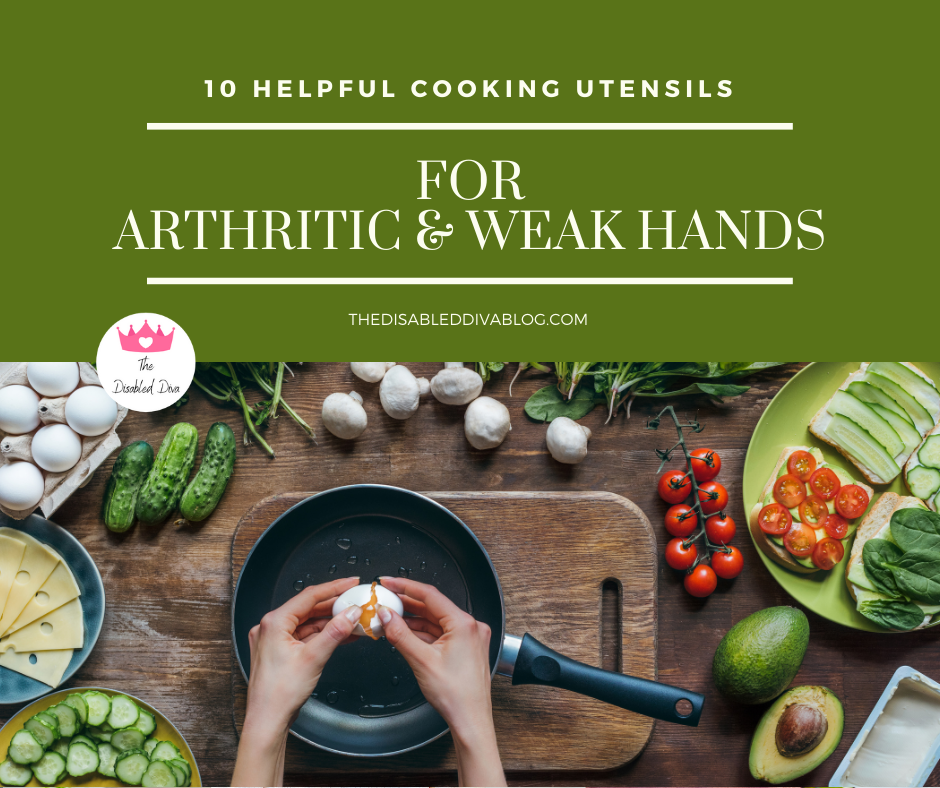 With the right cooking utensils, cooking with arthritic and/or weak hands becomes easier and less painful. Check out these helpful tools!