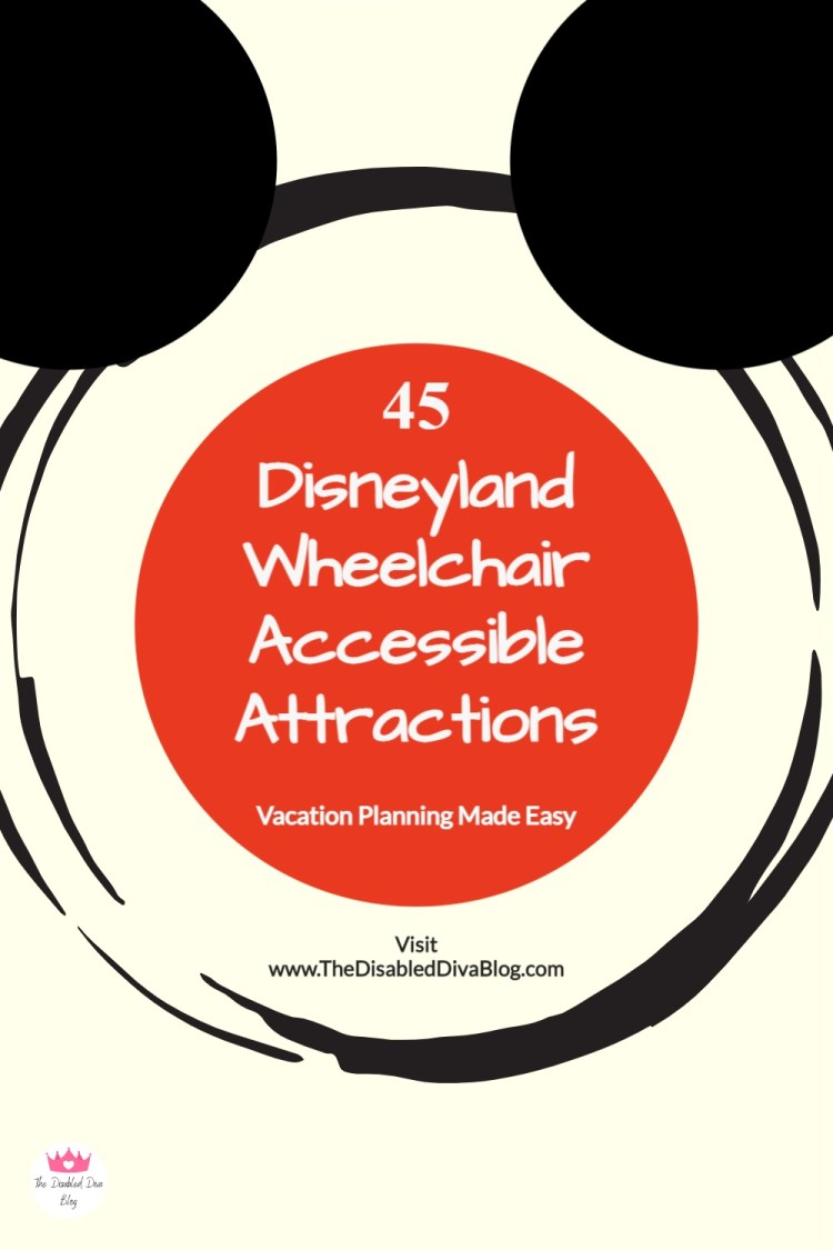Planning a vacation to the Disneyland Resort in California can be stressful for anyone, but more so for those of us who must use and remain in a wheelchair. Here are 45 Disneyland attractions that you can experience and enjoy from your wheelchair!