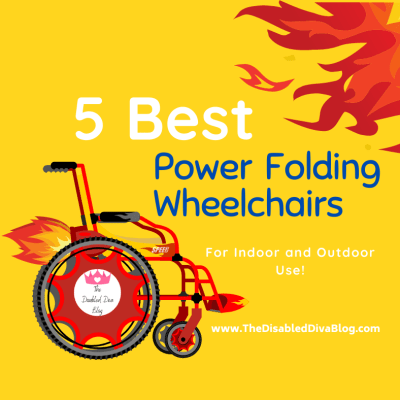 5 Best Power Folding Wheelchairs for Indoor and Outdoor Use