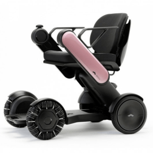whill-model-ci pink power wheelchair