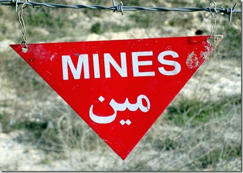 Kabul Airport landmines