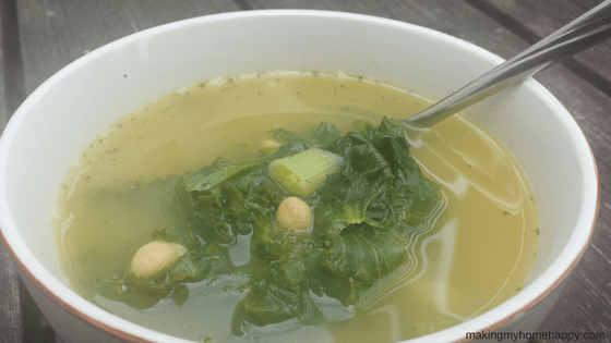 Quick & Easy Veggie Kale Soup Recipe