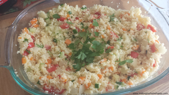 Summer Fresh Couscous Salad – Fresh Quick and Simple Recipes