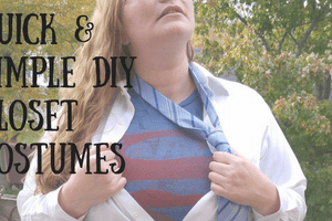 Quick & Simple DIY Halloween Costumes | Making My Home Happy