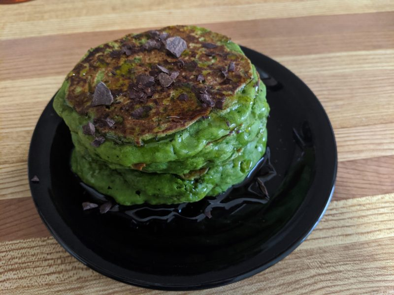 Green-Pancakes-No-Food-Dye-needed-The-Discount-Vegan