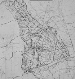 a black and white map showing the area around vimy ridge the map [ 2201 x 2717 Pixel ]