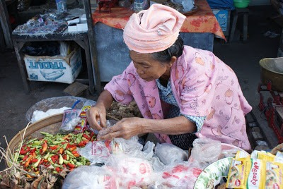 Market Picture to Gather Indonesian Food Ingredients