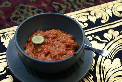 Tomato Chilli Sambal - Traditional Indonesian Food