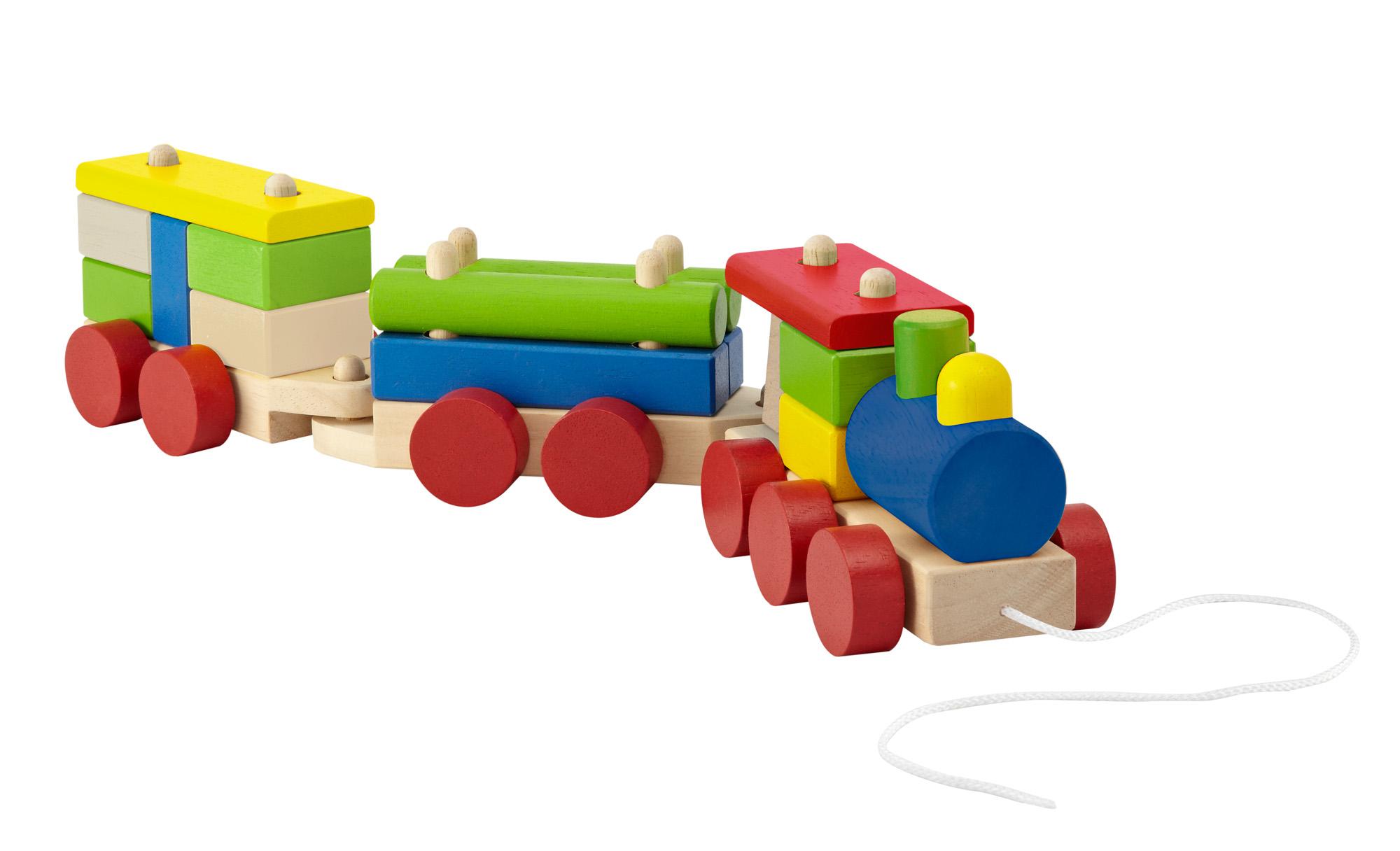 Wonderworld Stacking Train